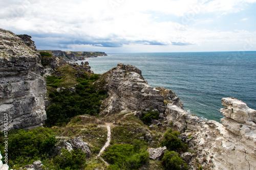 Foto op Canvas Natuur Rocks of Jangul, Tarhankut, Crimea