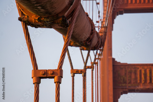 Cables of Golden Gate Poster