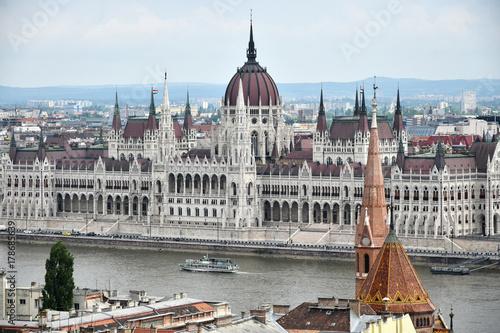 Papiers peints Budapest Parliament building, Budapest, Hungary