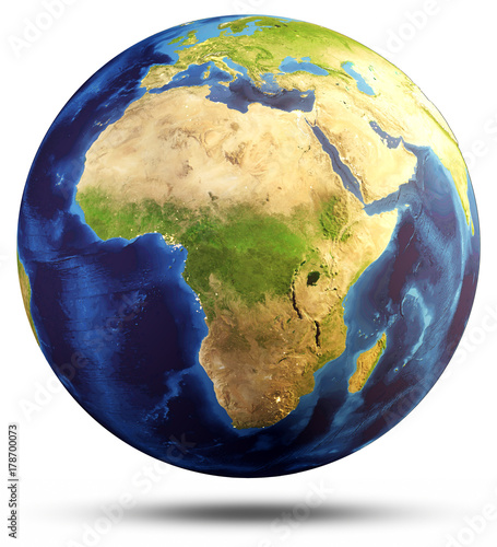 Earth Sphere Map 3d Rendering Buy Photos Ap Images Detailview
