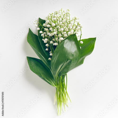 Aluminium Lelietjes van dalen Bouquet Lily Of The Valley