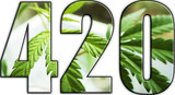 420 Marijuana Logo High Quality