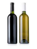 wine bottle isolated - 178710633
