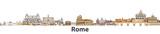 Rome vector city sky...