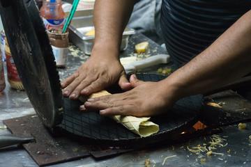 Marquesita : crêpe mexicaine