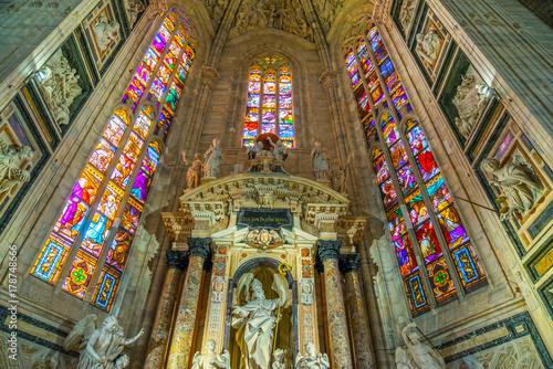 Foto op Canvas Milan Duomo of Milan, Italy.
