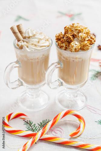 Papiers peints Cafe winter cocoa