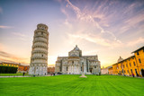 Pisa Cathedral and the Leaning Tower - 178768655