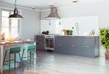 Modern kitchen interior. - 178773420