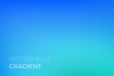 Color gradient background of blue. Abstract modern trendy vector soft color gradient background with light effect for natural sky or ocean water marine blend backdrop design template - 178778272