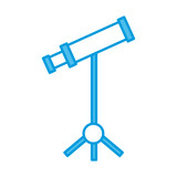 Stethoscope medical tool icon vector illustration graphic design