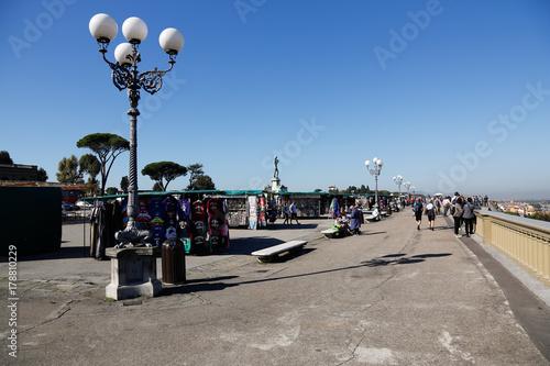 Italien, Toskana, Florenz, Urlaub, Reisen, Sommer, Sonne, Kulturreise, Stadtansi Poster