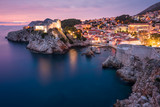 Festung Lovrijenac in Dubrovnik nach Sonnenuntergang - 178828670