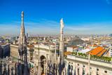 Skyline of Milan,  Italy. - 178829007