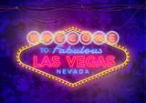 Fototapeta Forest - Neon Las Vegas Sign © nusha777