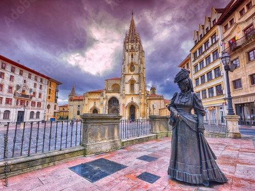 San Salvador cathedral in Oviedo, Spain.