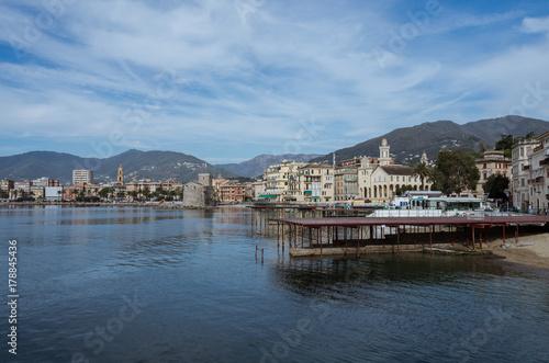 Rapallo, il castello dal mare, Tigullio,riviera di levante Poster