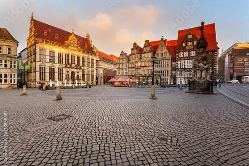 Foto op Plexiglas Berlijn Market square Bremen Germany