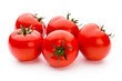 Quadro Tomato isolated on white background.