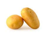 Potatoes isolated on white background with clipping path - 178887077