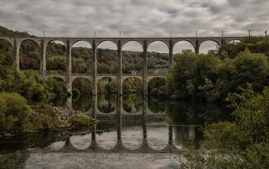 Viaduc de Cize-Bolozon, Ain, France