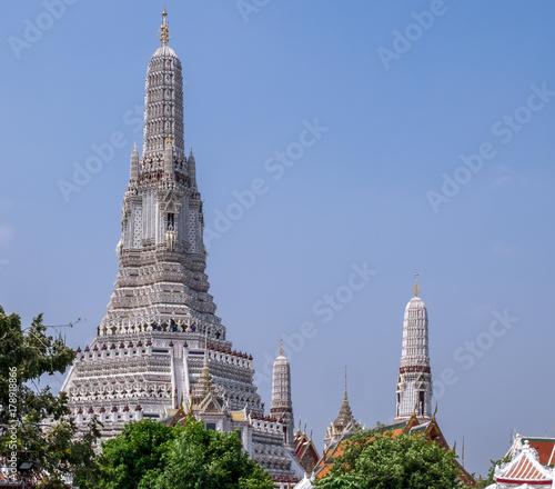 Foto op Plexiglas Bangkok Wat Arun Buddhist Temple in Bangkok Thailand