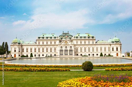 Foto op Plexiglas Wenen Belvedere palace Vienna, Austria