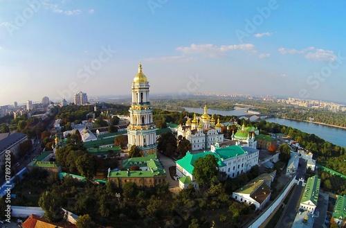 Foto op Plexiglas Kiev Kiev-Pechersk Lavra, Aerial View