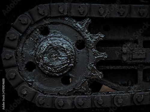 Black Gear Poster