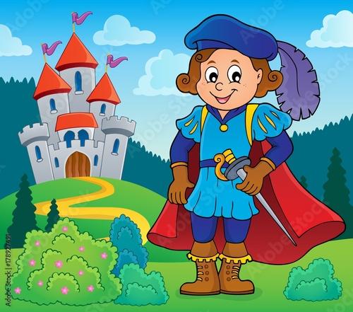 Papiers peints Enfants Prince theme image 5