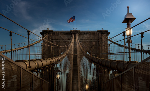 Aluminium Brooklyn Bridge Brooklyn Bridge New York