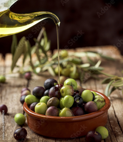 arbequina olives from Spain - 178959836