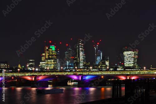 Fotobehang Londen London City Scape