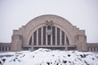 Snow Covered - Historic Union Terminal, Cincinnati, Ohio
