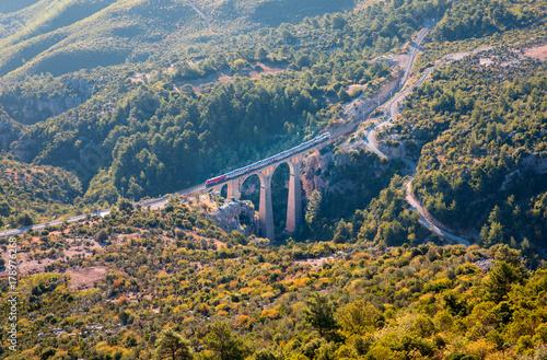 Varda railway bridge, Adana Turkey