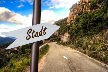 Schild 253 - Stadt