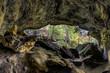 Woodland Recess Cave Panorama - Piatt Park - Monroe County, Ohio