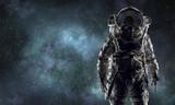 Adventure of spaceman. Mixed media - 179024028