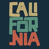 California t-shirt graphic design - 179031215