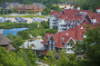 Blue Mountain resort and village during the summer in Collingwood, Ontario