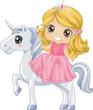 Kid Girl Princess Unicorn