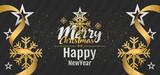 christmas background vector design - 179052033
