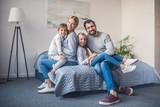 happy parents and kids - 179076012