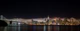 Panorama Skyline San Francisco bei Nacht