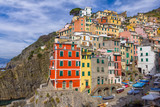 Riomaggiore in Cinque Terre, Italy - 179080060