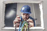 electrician at work - 179085022
