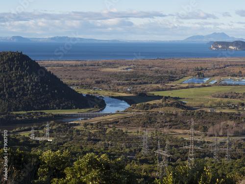 Foto op Plexiglas Cappuccino LAKE ROTORUA - NEW ZEALAND