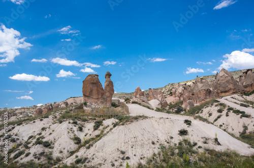 Fotobehang Kameel Camel rock in Cappadocia