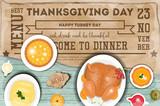 Thanksgiving Day Greeting Card - 179148050
