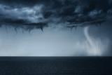 tornado on the sea